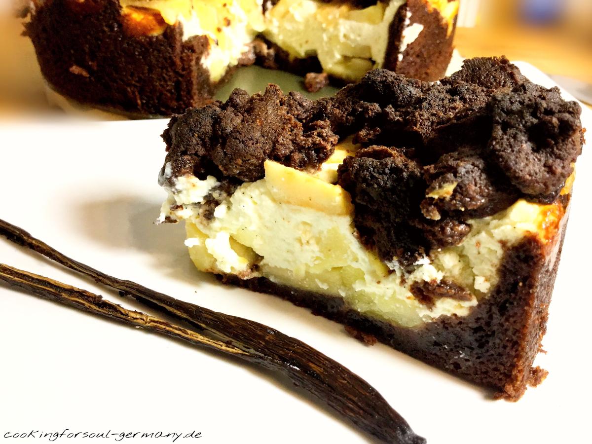 lowcarb schokoladen apfelkuchen mit quark ohne zucker rezept. Black Bedroom Furniture Sets. Home Design Ideas