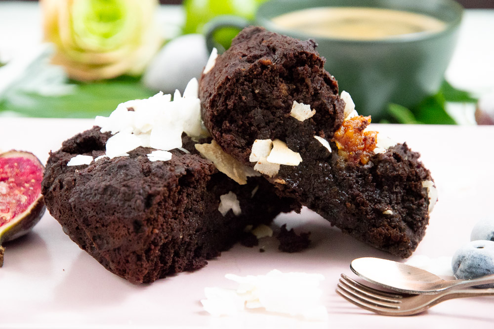 low carb kokos brownies ohne Zucker