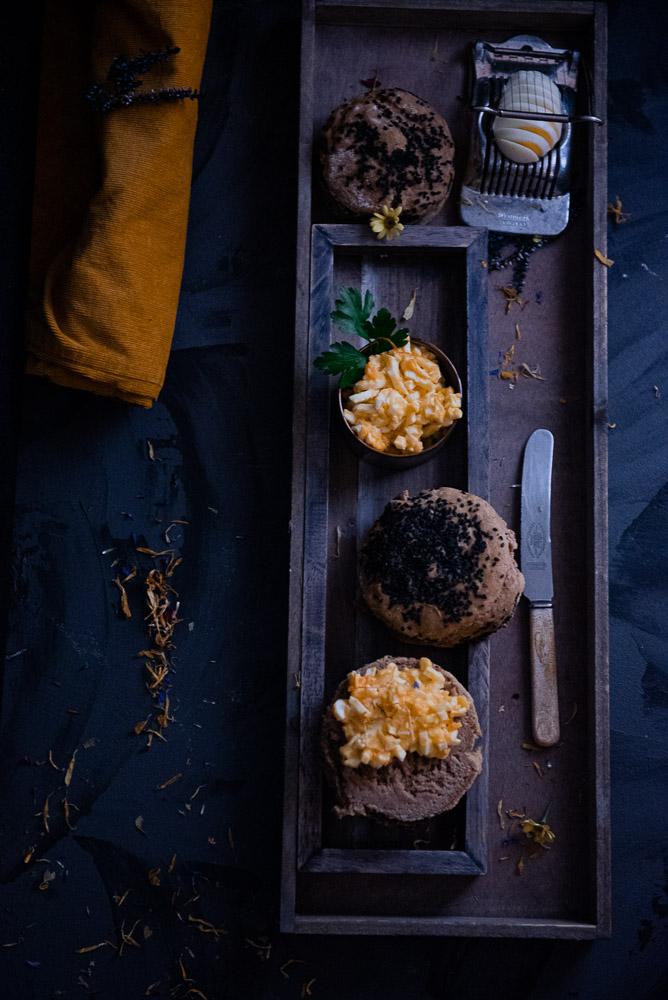 Dinkelbrötchen mit Sesam