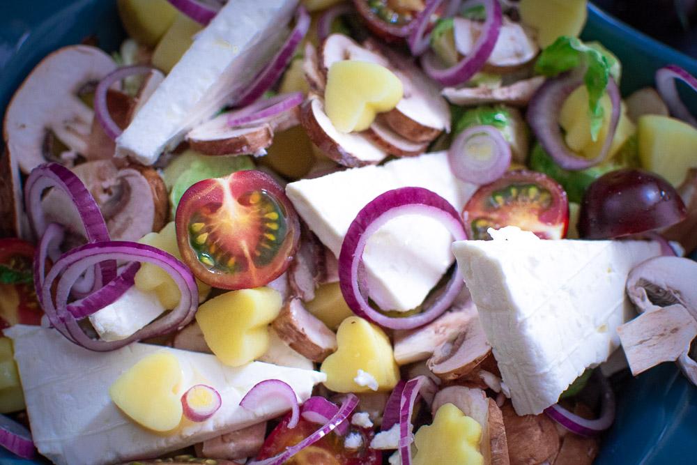 Feta Gemüse Kartoffel Auflauf